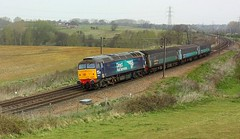 Overcast at Brantham (Chris Baines) Tags: drs 57003 brantham working norwich eastleigh arlington