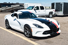 Striped (Hunter J. G. Frim Photography) Tags: supercar colorado srt viper acr gts v10 american wing red black white manual carbon coupe srtviper srtviperacr