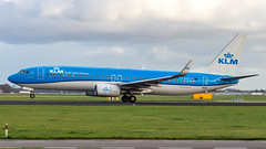 Boeing 737-8K2(WL) PH-BXZ KLM Royal Dutch Airlines (William Musculus) Tags: plane spotting aviation airplane airport william musculus amsterdam schiphol ams eham polderbaan boeing 7378k2wl phbxz klm royal dutch airlines kl 737800
