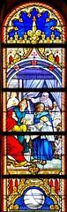 Vitral da igreja Matriz de Vila do Conde (vmribeiro.net) Tags: viladoconde porto portugal vila do conde vitral stained glass igreja church matriz sony a350