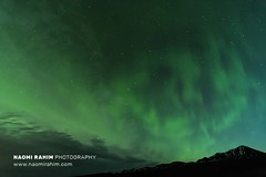 Northern lights over Iceland 19.11.18 (Naomi Rahim (thanks for 4.7 million visits)) Tags: iceland northiceland 2018 autumn europe scandinavia aurora auroraborealis northernlights night sky astrophotography travel travelphotography nikon nikond7200 1116mm longexposure mountain landscape green wanderlust