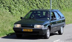 Citroën BX 4WD Break 1992 (XBXG) Tags: fjzz98 citroën bx 4wd break 1992 citroënbx 4x4 stationcar stationwagen station wagon kombi estate green vert triton citromobile 2019 citro mobile carshow expo haarlemmermeer stelling vijfhuizen nederland holland netherlands paysbas youngtimer old classic french car auto automobile voiture ancienne française france frankrijk vehicle outdoor