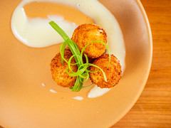 Zoko balls (Bryan Esler Photo) Tags: food appetizer zoko822 grandrapidsmagazine restaurant grandrapids