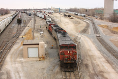 CN 2417 Neenah, WI (wisconsinrails) Tags: cn canadiannational neenah wisconsin