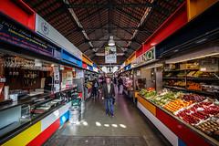 Malaga Market (USpecks_Photography) Tags: malaga market sopping commerce fruits vegetables ultrawide wideangle vanishingpoint andalusia spain