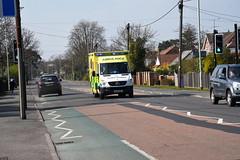 DSC_2924 Mercedes-Benz (PeaTJay) Tags: nikond750 berkshire reading winnersh outdoors roadvehicle emergencyservices publicservices ambulance mercedesbenz