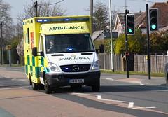 DSC_2925 Mercedes-Benz (PeaTJay) Tags: nikond750 berkshire reading winnersh outdoors roadvehicle emergencyservices publicservices ambulance mercedesbenz