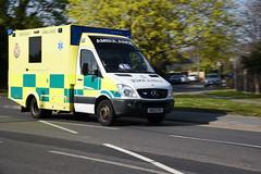 DSC_2946 Mercedes-Benz (PeaTJay) Tags: nikond750 berkshire reading winnersh outdoors roadvehicle emergencyservices publicservices ambulance mercedesbenz