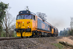 50049 and 50007 [0Z52] 16.04.2019 (Wolfie2man) Tags: 50049 50007 class50 vacs vac hoover thefiftyfund theclass50alliance gbrf nortonjunction norton 0z52 defiance hercules diesel severnvalleyrailway