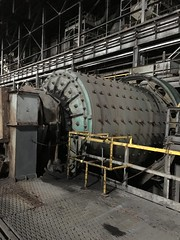 Grinding mill (blue corgi) Tags: industrial mining oreprocessing rodmill mesabiironrange iphone6s