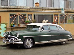 Hudson Hornet (Larry Myhre) Tags: hudson hornet car automobile vintage vehicle sedan crockett california