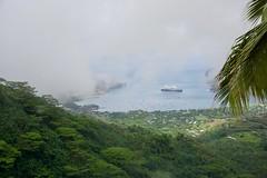 Eurodam in Nuku Hiva (jjknitis) Tags: 2019 cruise eurodam hollandamerica humidity island march30 marquesas nukuhiva polynesia southpacific view