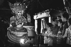 """Tales that will ignite you forever"" (Robins Mathew Z) Tags: children theyyam kerala india people culture ritual incredibleindia bla bnw blackandwhite"