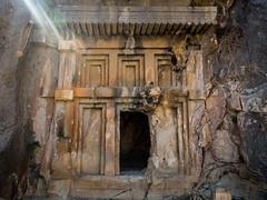 Myra Rock Tombs-6094 (Andrew Panshin) Tags: ancient ancientcity antikkenti canon canon5dmark3 lycian ruins travel turkey myra demre rocktombs tombs lycianruins canon24105