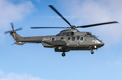 CN-AZT Eurocopter AS332L2 (Super Puma) Royal Moroccan Gendarmerie (Stephane GolfTraveller) Tags: strasbourg entzheim lfst sxb aeroport airport planespotting ©stephanegolftraveller helicopter rotor sky sun cnazt eurocopter as332l2 superpuma royalmoroccangendarmerie canon airliners as332 aerospatiale