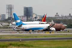 more recent junk at MNL/RPLL! (Jaws300) Tags: xiamen airlines b737800 b5498 air mf cxa manila ninoy aquino international airport philippines taxiway runway parked parking freighter freight cargo remote stand terminal apron airbus ramp canon 5d eos rpll mnl china airline airways crash crashed damaged damage wfu trashed trash junk junker boeing b738 b737 a321 a320 pal xiamenair xiamenairlines damagedbeyondrepair dbr philippineairlines manilaninoyaquino manilaninoyaquinointernational ninoyaquino ninoyaquinointernationalairport cfm cfm56 landing accident mishap crashlanding landingaccident runwayexcursion
