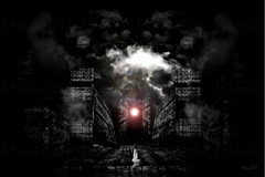 luz en la oscuridad (Mau Silerio) Tags: surrealism surreal surrealisme dreaming dreamscape dream nightmare psychology art digital
