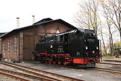Lößnitzgrundbahn 99 1789 te Radeburg (vos.nathan) Tags: br 99 baureihe lösnitzgrundbahn 1789 radeburg