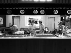 Making imagawayaki (streetravioli) Tags: street photography japan japanese osaka umeda oobanyaki taikomanju oyaki