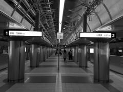 Platform (streetravioli) Tags: street photography japan japanese osaka metro train subway
