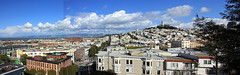 Telegraph Hill from SFAI (JB by the Sea) Tags: sanfrancisco california february2019 urban northbeach russianhill chestnutstreet sanfranciscoartinstitute sfai panorama panoramicview