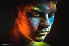 Colors Of Life ... (Sam' place) Tags: portrait colors boy face holi fineart