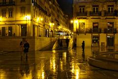 RAINY LIGHTS (max tuguese) Tags: rainy rain lights coimbra portugal portuguese cityscape street photographer flickr outdoor evening dark maxtuguese explore city lamp life lifestyle night sony urban scenery perfect view mood