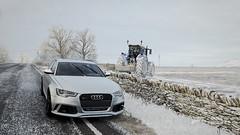 RS666 <3 (K a c p e r K W C) Tags: audi a6 s6 rs6 2018 2019 forza horizon 4 winter road sky snow trees 2k19 2k18 quatro fun game clouds car