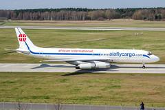 ZS-OZV (PlanePixNase) Tags: aircraft airport planespotting haj eddv hannover langenhagen douglas dc86070 dc8 mcdonnell africaninternationalairways aiaflycargo cargo