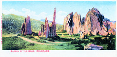 Colorado - Garden of the Gods Prior to 1907 (pepandtim) Tags: postcard old early nostalgia nostalgic colorado garden gods kropp milwaukee wis wisconsin undivided back 1907