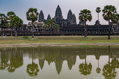 Angkor Wat Temple & reflection (DanHartfordPhoto) Tags: abandoned angkorwat asia cambodia danhartfordphoto decay landscape old pond reflection ruin siemreaparea stonearchitecture templeshrine tower water exif:aperture=ƒ11 camera:model=canoneos7dmarkii camera:make=canon geo:lon=103864235 geo:location=angkorwat exif:isospeed=400 geo:city=siemreapangkorarea geo:state=siemreap geo:lat=13411874083333 geo:country=cambodia exif:model=canoneos7dmarkii exif:lens=28300mm exif:focallength=33mm exif:make=canon 7d2r031765