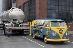 Two Roads Micro Bus (Bill McBride) Tags: tworoads brewery brew beer volkswagen bus van microbus vw