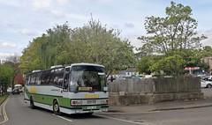 B106 JAB, Midland Red West Leyland Tiger, Winchester, 6th. May 2019. (Crewcastrian) Tags: winchester buses transport kingalfredrunningday midlandredwest leylandtiger plaxton paramount eurocruising b106jab 1006