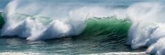 Rolling Thunder (Gene Mordaunt) Tags: cascais green nikon810 ocean portugal sea spray surf water