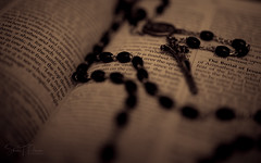 """It is finshed!"" (S.Pierce86) Tags: rosary catholicism catholic holy bible finished sepia"