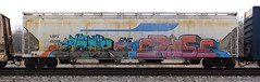 Acer/Erase (quiet-silence) Tags: graffiti graff freight fr8 train railroad railcar art acer erase gns goonies hopper shpx shpx45288