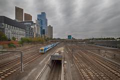 Tracks (A Dane Downunder) Tags: canoneos6dmarkii sigma1224mmf4556dgiihsm publictransport metrotrain train urban melbournecbd victoria australia