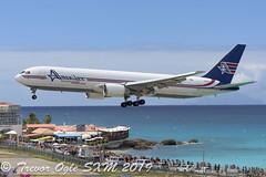 DSC_8080Pwm (T.O. Images) Tags: n316cm amerijet boeing 767 767300 maho beach st maarten sxm princess juliana airport