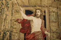 The Resurrection of Jesus (RoamingTogether) Tags: 70200vrii art europe galleryoftapestries nikon nikon7020028 nikond700 resurrectionofchrist vaticancity vaticanmuseums
