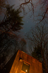 Campfire Under The Big Dipper (Someone's Name) Tags: stars stargazing campfire cabin catskills newyork catskillmountains forest camping glamping spring starlight fire bigdipper constellation ursamajor
