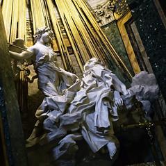 Ecstasy of Teresa (khrawlings) Tags: teresa sculpture baroque bernini santamariadellavittoria rome italy marble church