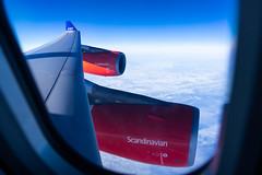 SAS A340-300 'Star Alliance' OY-KBM (altinomh) Tags: sas a340300 star alliance oykbm airbus engine winglet scandinavian airlines sk