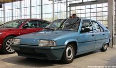 My ex Citroën BX 14 (1989) (XBXG) Tags: xk65yk citroën bx 14 citroënbx blue bleu olympe emd citromobile 2019 citro mobile carshow expo haarlemmermeer stelling vijfhuizen nederland holland netherlands paysbas youngtimer old french car auto automobile voiture ancienne française france frankrijk vehicle indoor