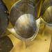 Decorative peaked helmet