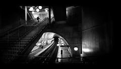 Underground (Nico Geerlings) Tags: ngimages nicogeerlings nicogeerlingsphotography cinematic cinematography metro station subway iledelacite paris france filmnoir streetphotography