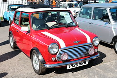 1996 Rover Mini Cooper P120HRW Brooklands Mini Day March 2019 (davidseall) Tags: 1996 rover mini cooper car p120hrw p120 hrw classic old shape style original great british brooklands day march 2019 red weybridge surrey