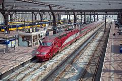 SNCB Thalys 4538 Rotterdam Centraal (daveymills37886) Tags: sncb 4538 rotterdam centraal tgv thalys sncf db ns