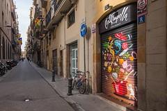 Exterior Carrer de Francisco Giner 22 (brujulea) Tags: brujulea restaurantes bares barcelona cal trapella cuina mercat exterior carrer francisco giner