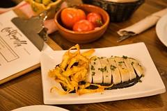 Calamar Ali - Oli Salsa Negra (brujulea) Tags: brujulea restaurantes bares barcelona cal trapella cuina mercat calamar ali oli salsa negra