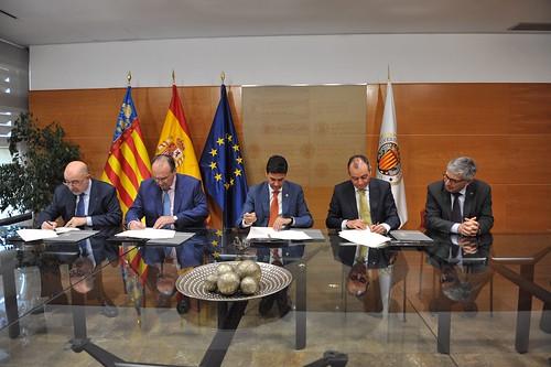 Firma Convenio Estudio Ampliación Norte Puerto de Valencia